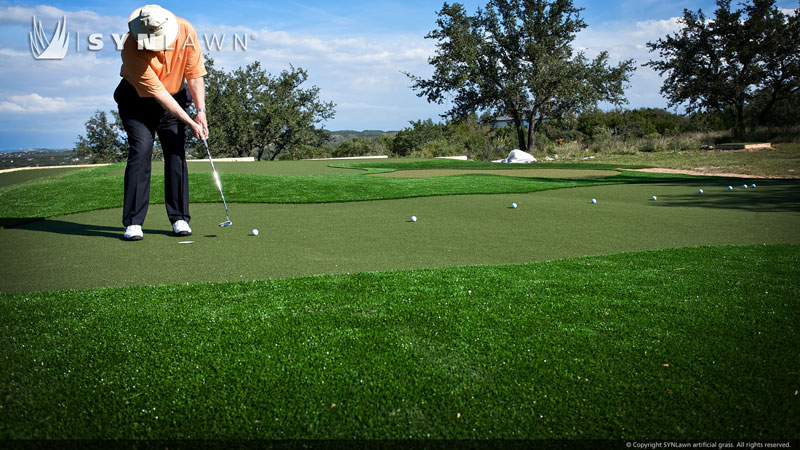 Dave Pelz for Synlawn