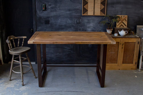 Rustic Modern Pub Table Hightop Bar — New Antiquity