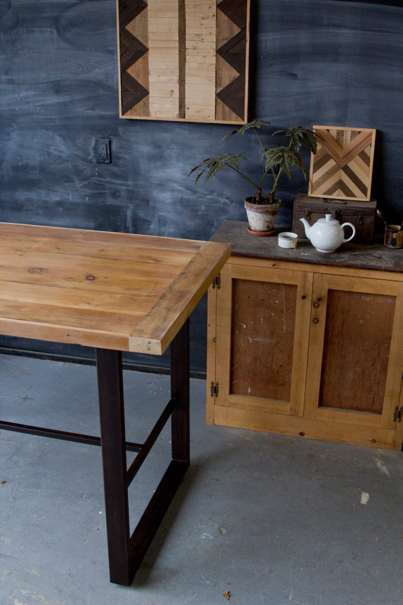Rustic Modern Pub Table Hightop Bar