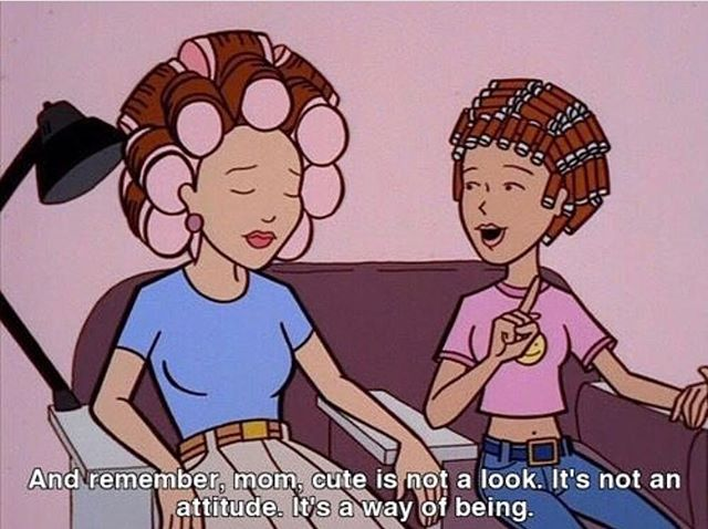 Yup. That's me 💁‍♀️ #currentmood #wayoflife #allthetime #daria #thatscute