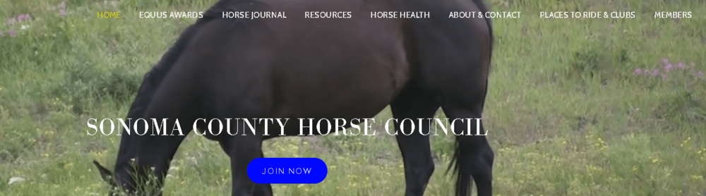 Sonoma County Horse Council website