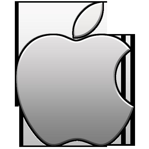 Apple logo icon - Aluminum.png