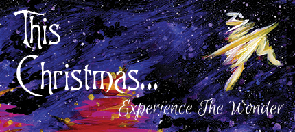 Christmas 2016 - photo galleryThis Christmas...Experience the Wonder - December 16This Christmas...Experience the Wonder - December 18This Christmas...Experience the Wonder - December 21