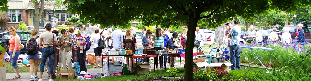 Neighbourhood-Wide Garage Sale Saturday, June 18 2016      10 AM to 2 PM     Rain or Shine