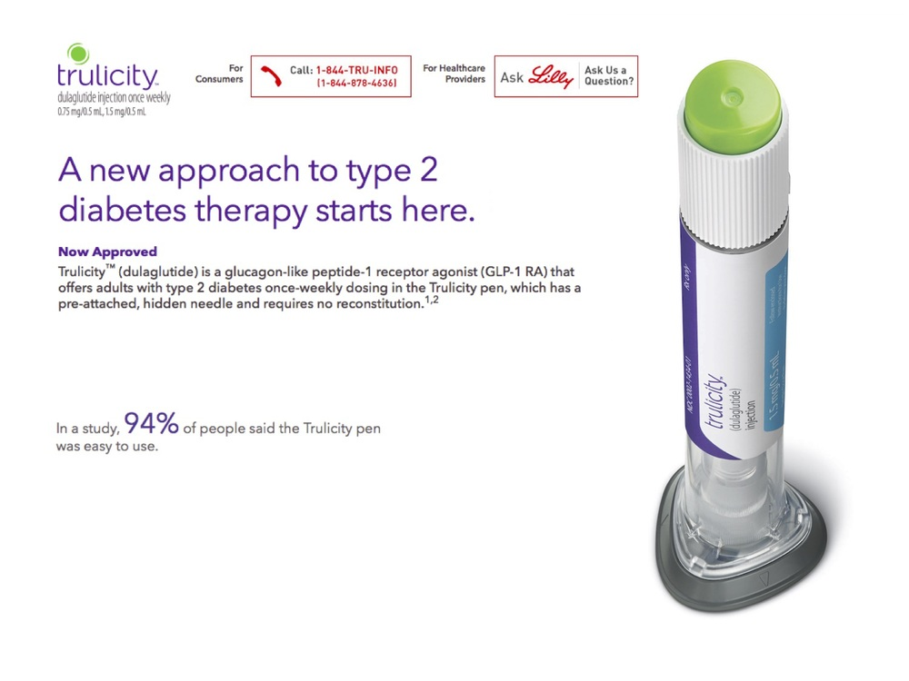 LIlly recently launched a new self-injection device to deliver next generation protein therapies to treat diabetes