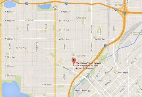 Contact Us - Us map denver
