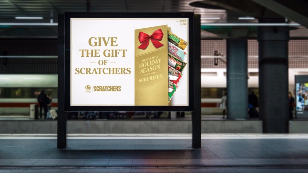 California+Lottery+-+Give+The+Gift+Of+Scratchers+Campaign