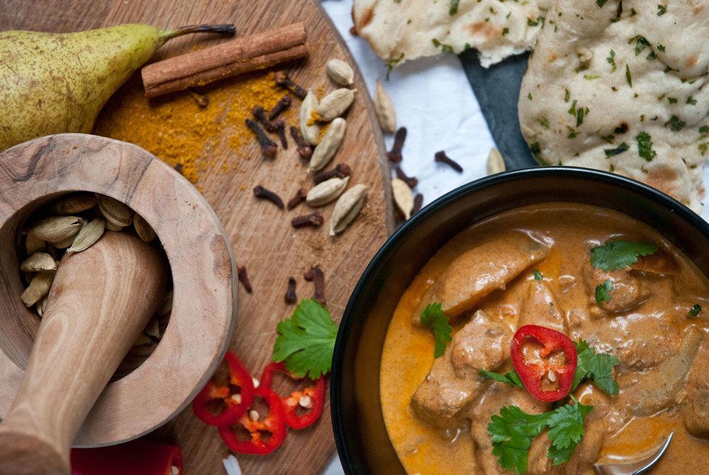 sean's lamb pear curry