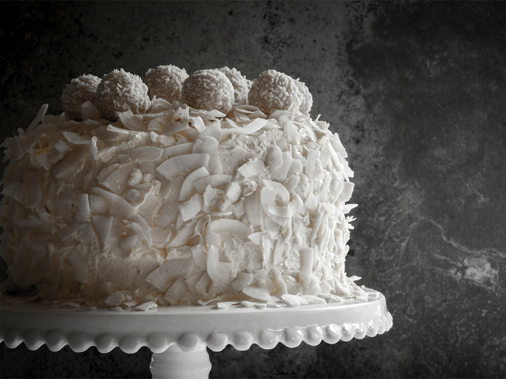 First Communion Coconut Cake