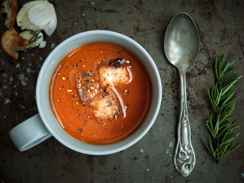roasted tinned tomato soup