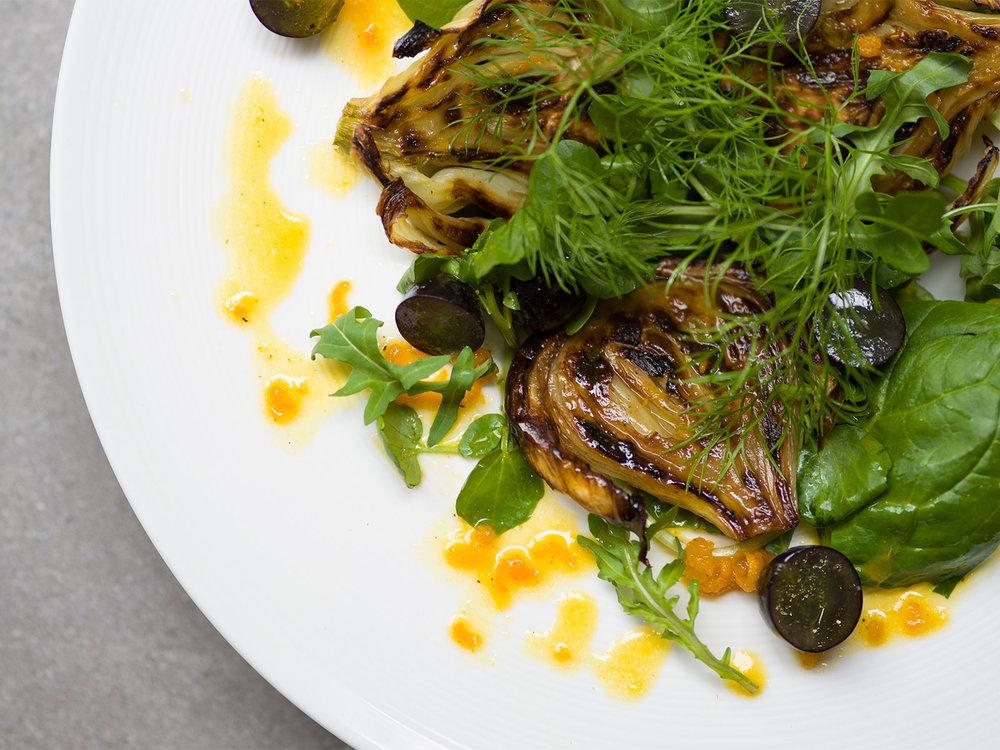 fennel & orange salad