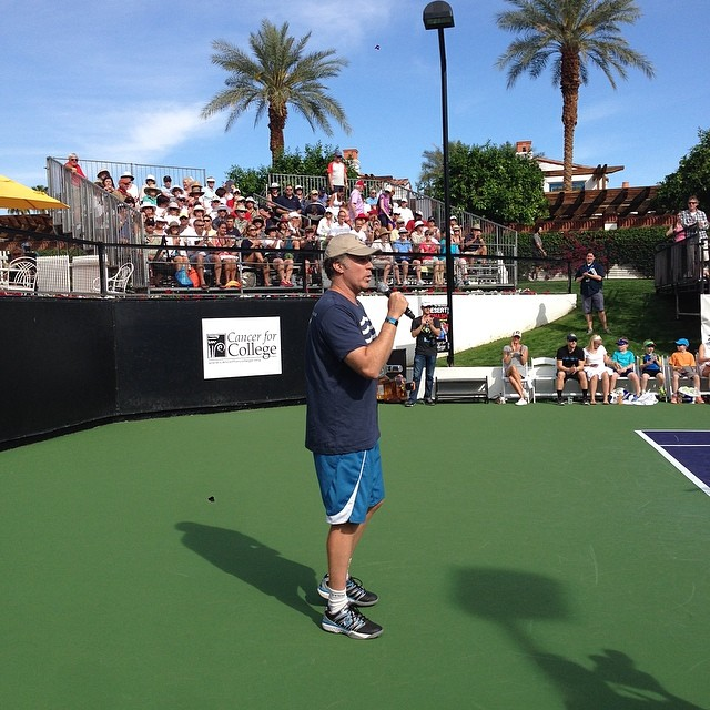Will Ferrell opens the 10th Annual Desert Smash.