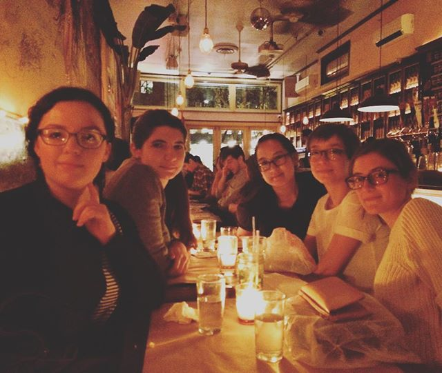 Look at all these glasses 🤓 dinner with @aestheticxlies @kelsuckz @brokencrownpolitics @debiasda Makes being a year older so much better! 🍻✨