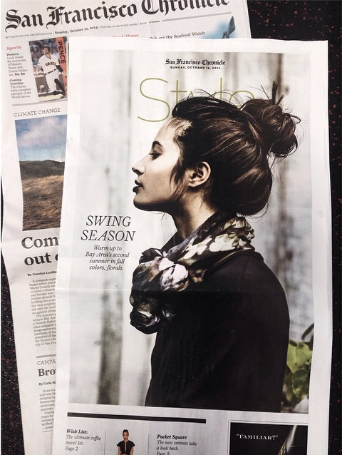 San Francisco Chronicle Style Section ~ hair by David Tolls