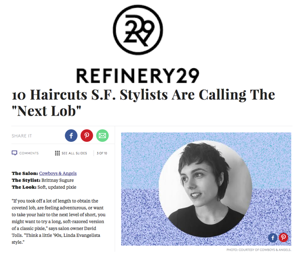 refinery 29 Hair Salon San Francisco