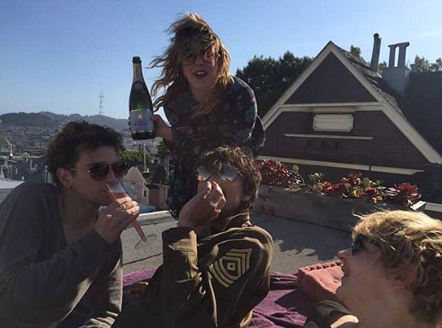 Rooftop brunch shenanigans #sundayfunday