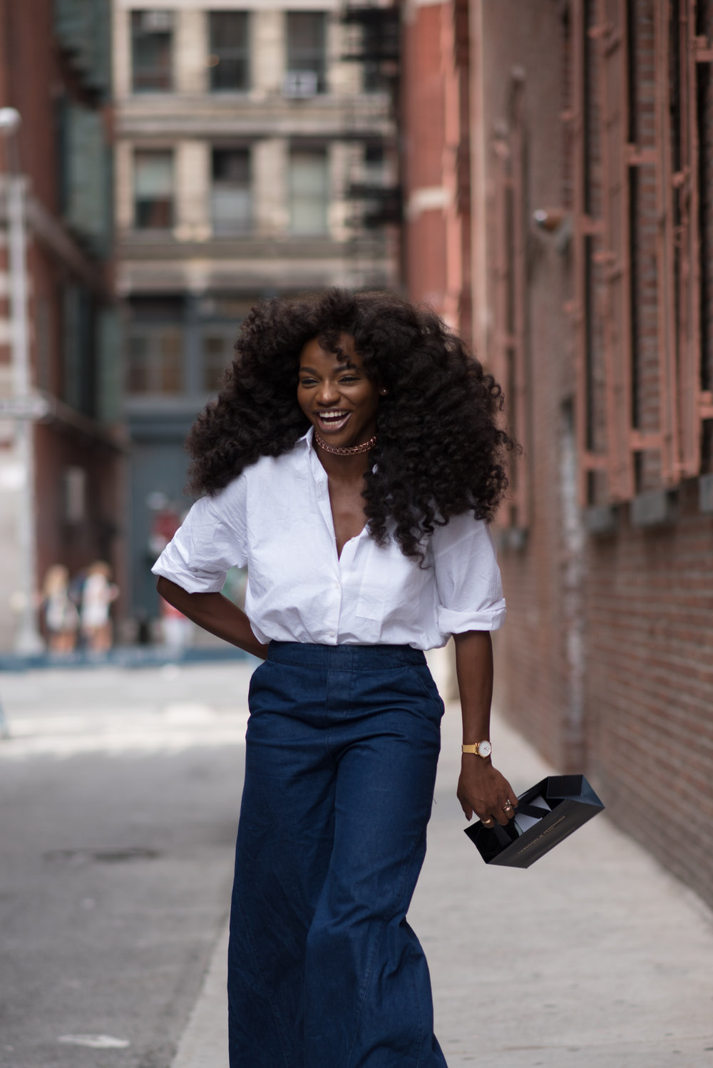 Nigerian Fashion Blogger & Creative Director, Asiyami Gold