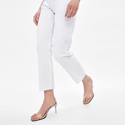 Zara Straight White