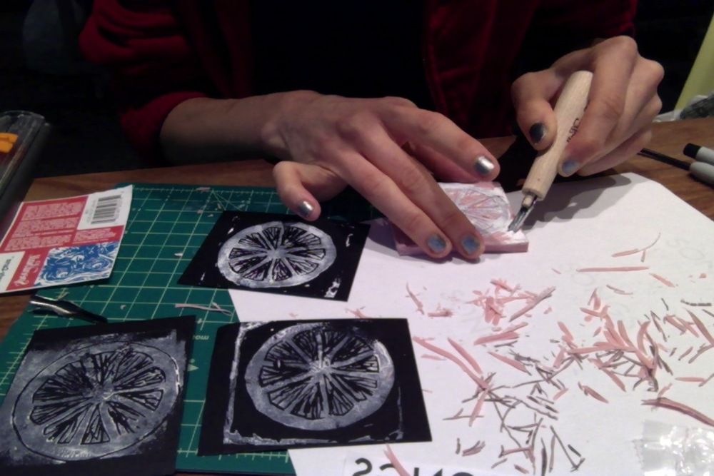 refining the grapefruit stamp