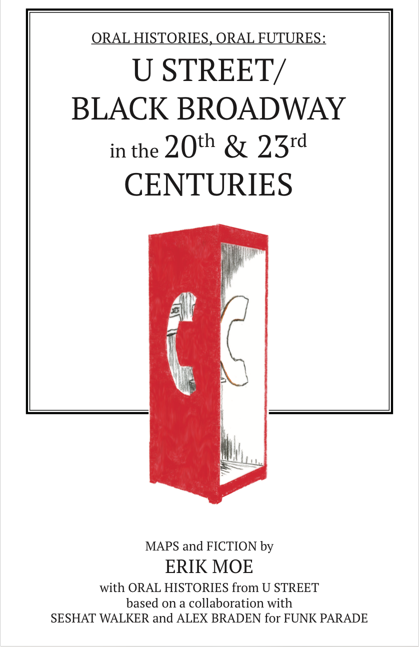 Book design: U Street / Black Broadway in the 20th & 23rd Centuries.