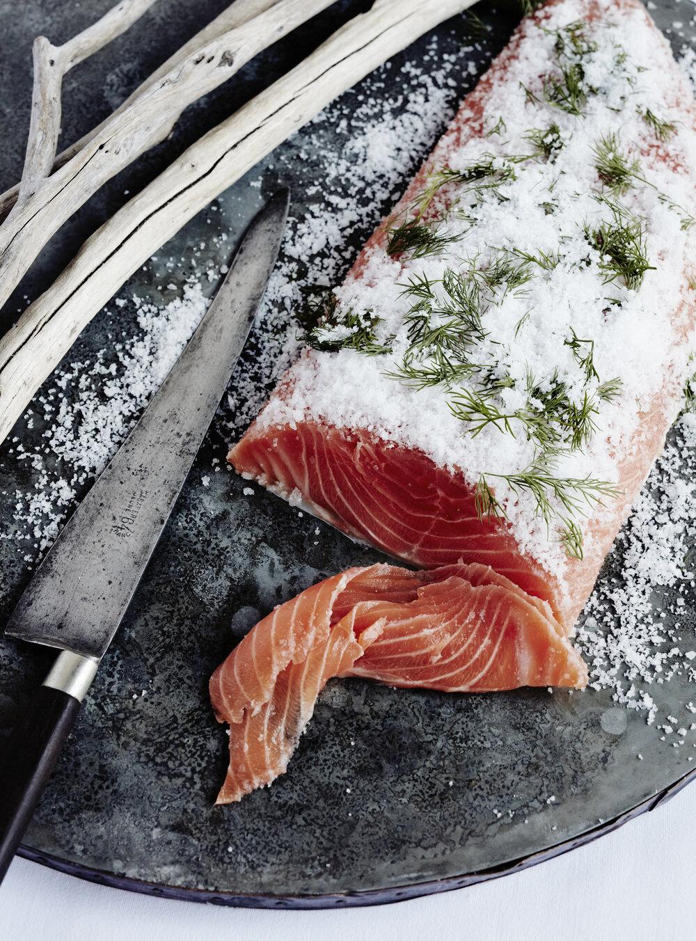 Salmon Gravedlax