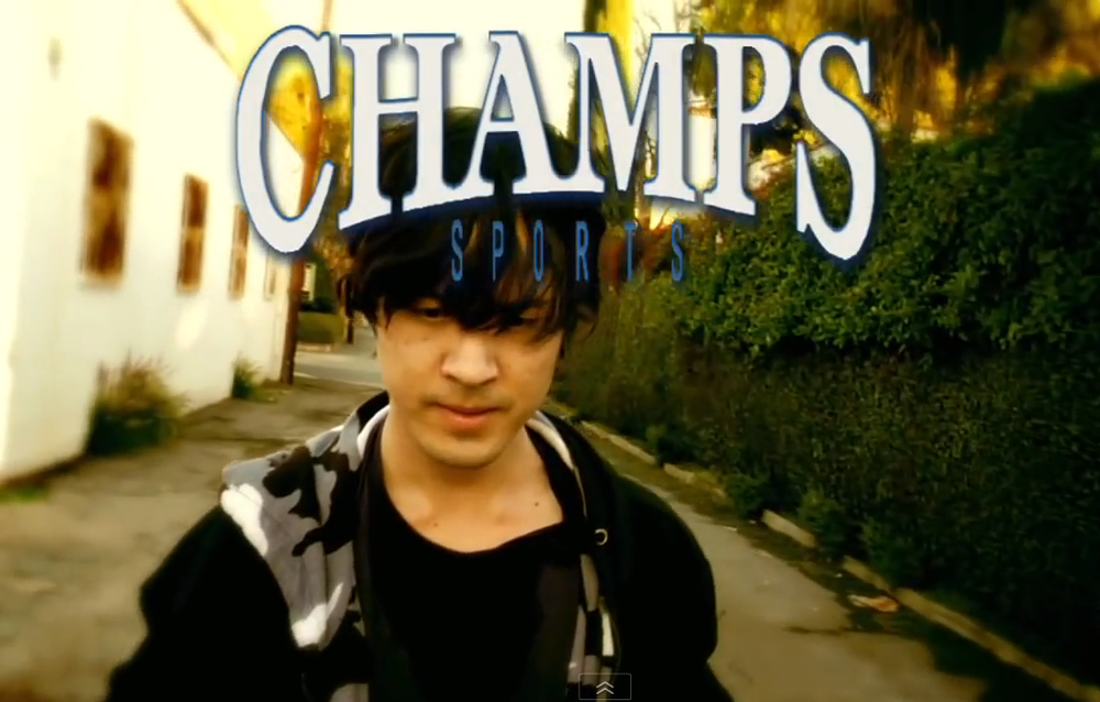 """Champs Sports"" Dir. by Adam Siegel"