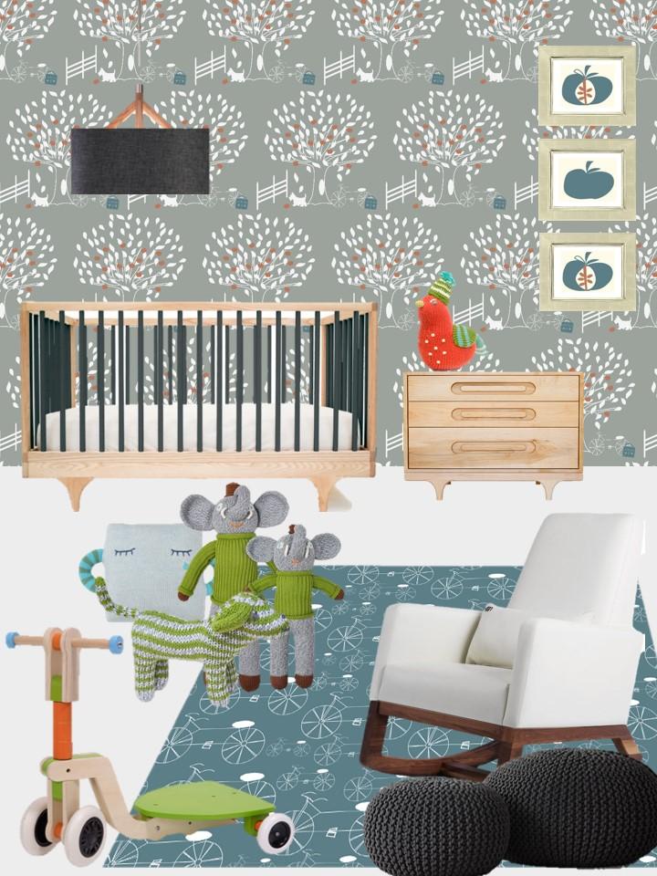 Concept Board - Nursery