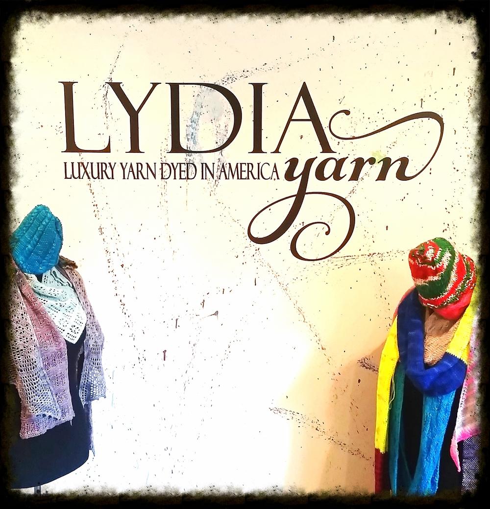 Entrance to LYDIA dye studio