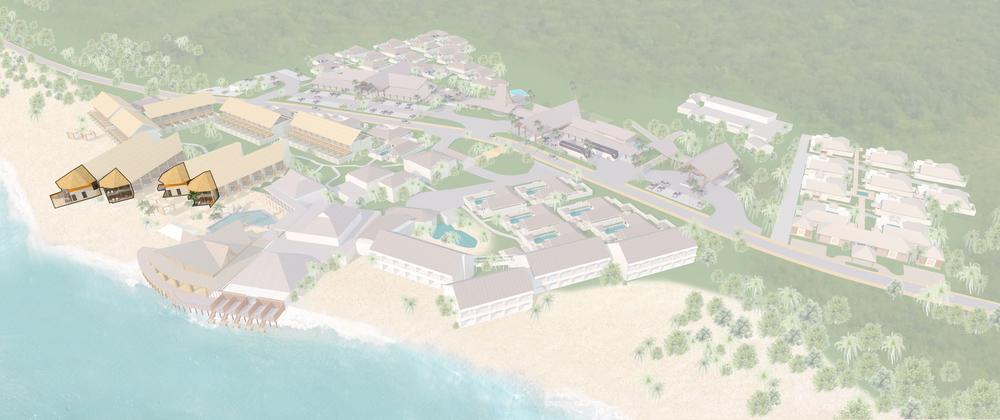 1 Bedroom Grand Beachfront Villa
