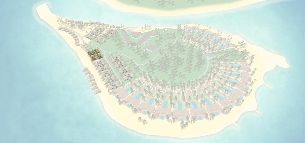 Grand Beachfront Pool Villa Estate
