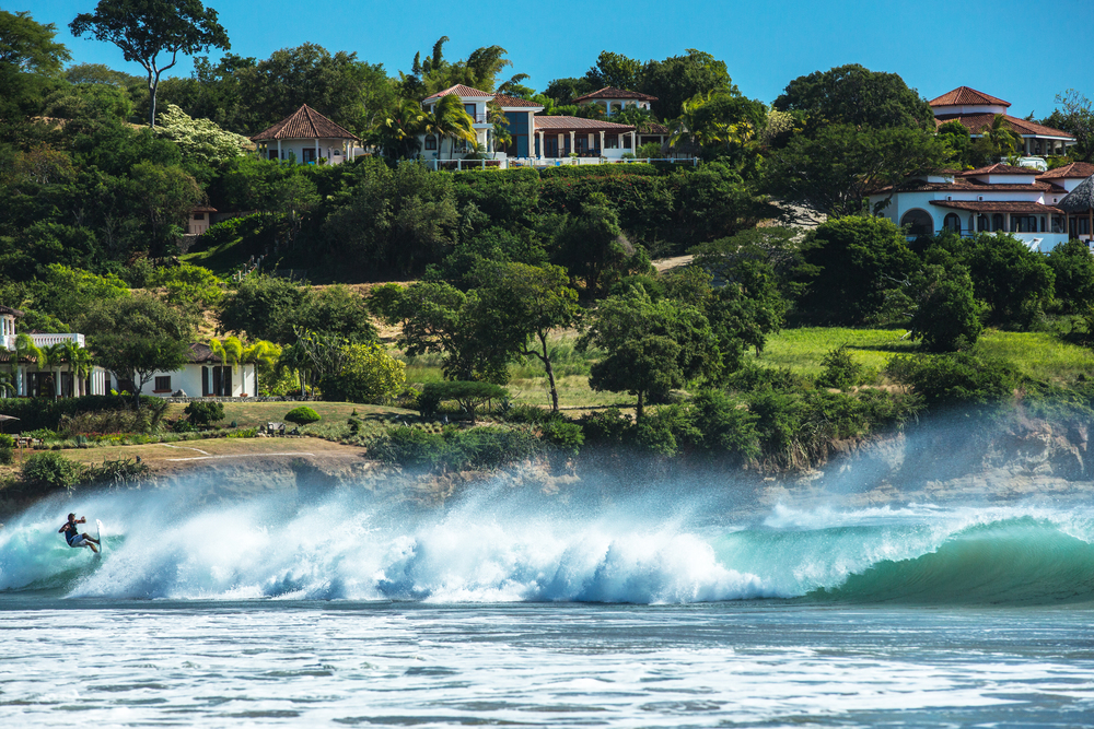 Santana Surf Break || Rivas, Nicaragua