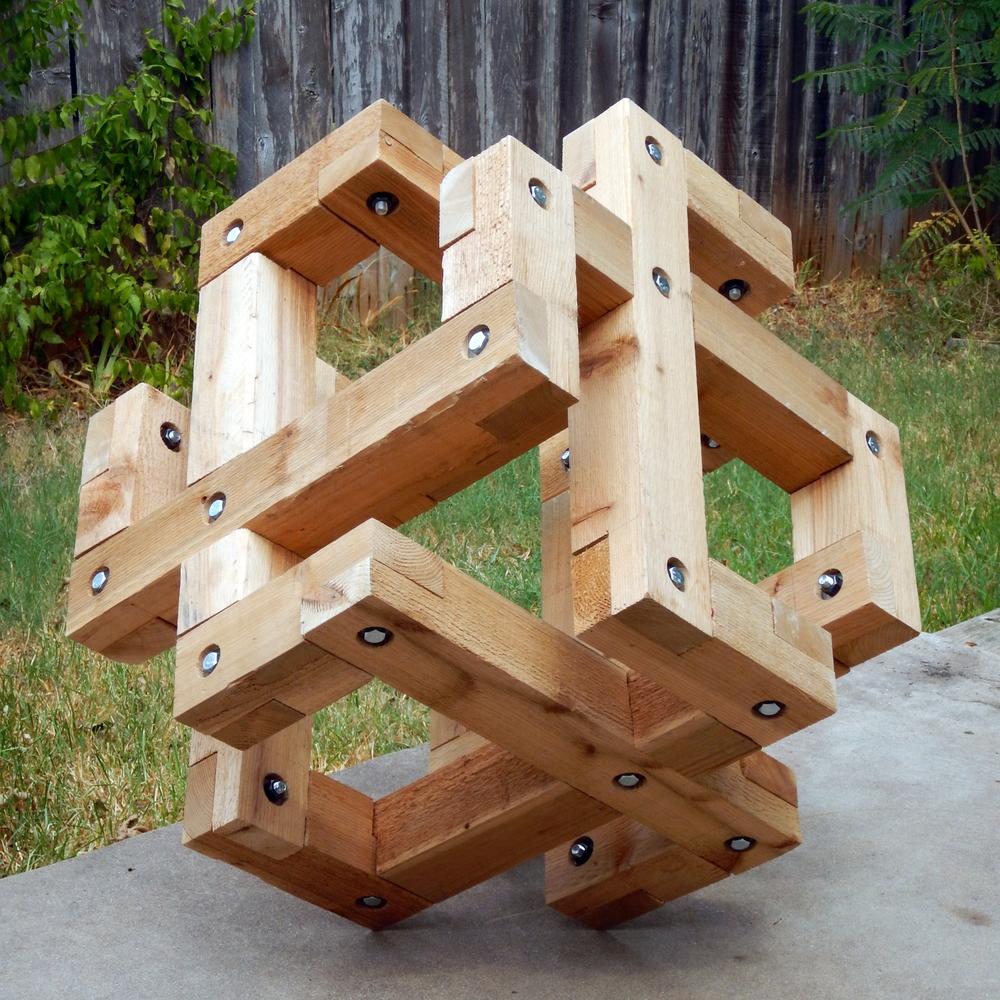 Wooden Fez Cube