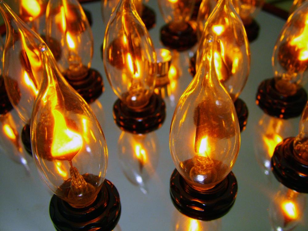 Wok Lamp - Detail