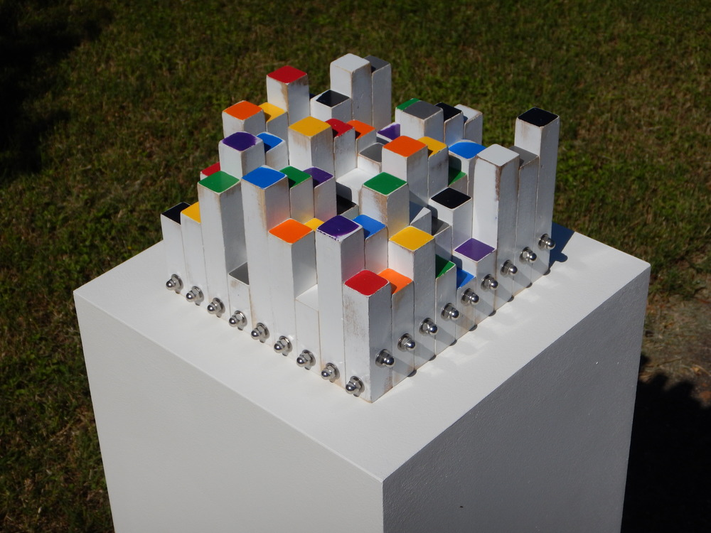 Double Sudoku Game Sculpture (2016)