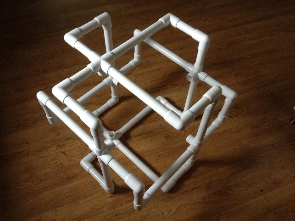 PVC Fez Cube