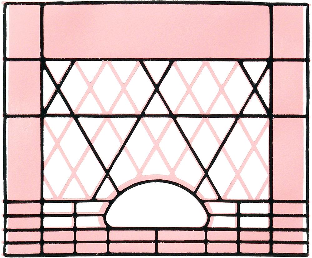 Milkcrate Print (Pink)