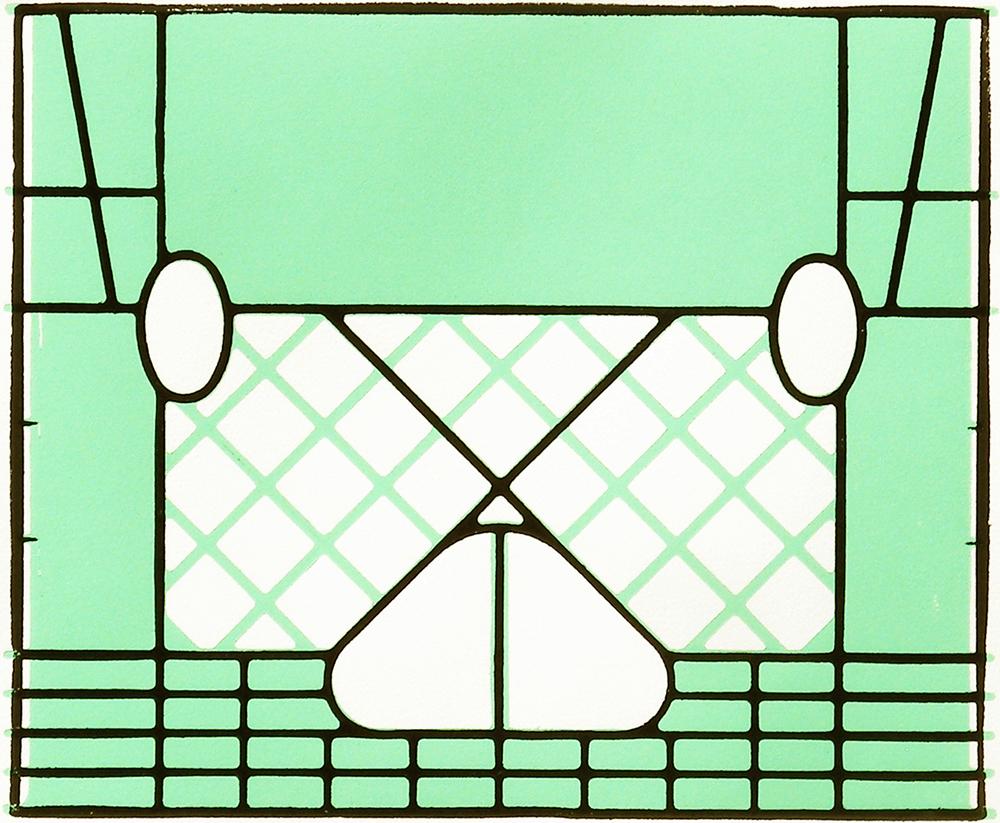 Milkcrate Print (Green)