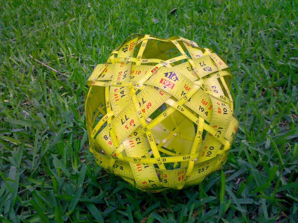 Woven Tape Measure Ball