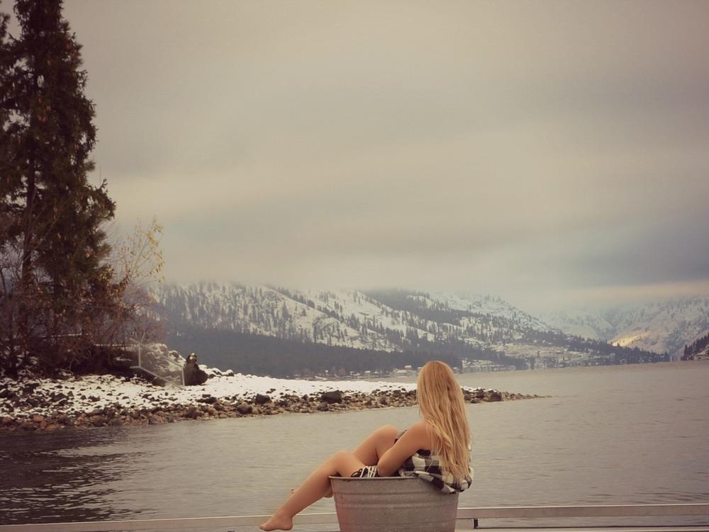 Michele Burklund Sitz bath