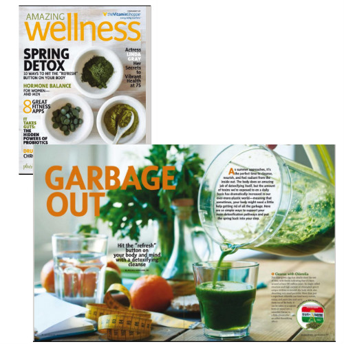 Natural Ways to Detox by Dr. Michele Burklund and Amazing Wellness Magazine