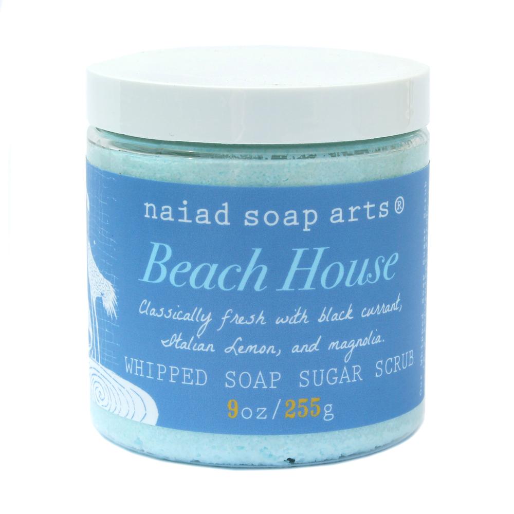 Beach House Sugar Whipped Soap — Naiad Soap Arts