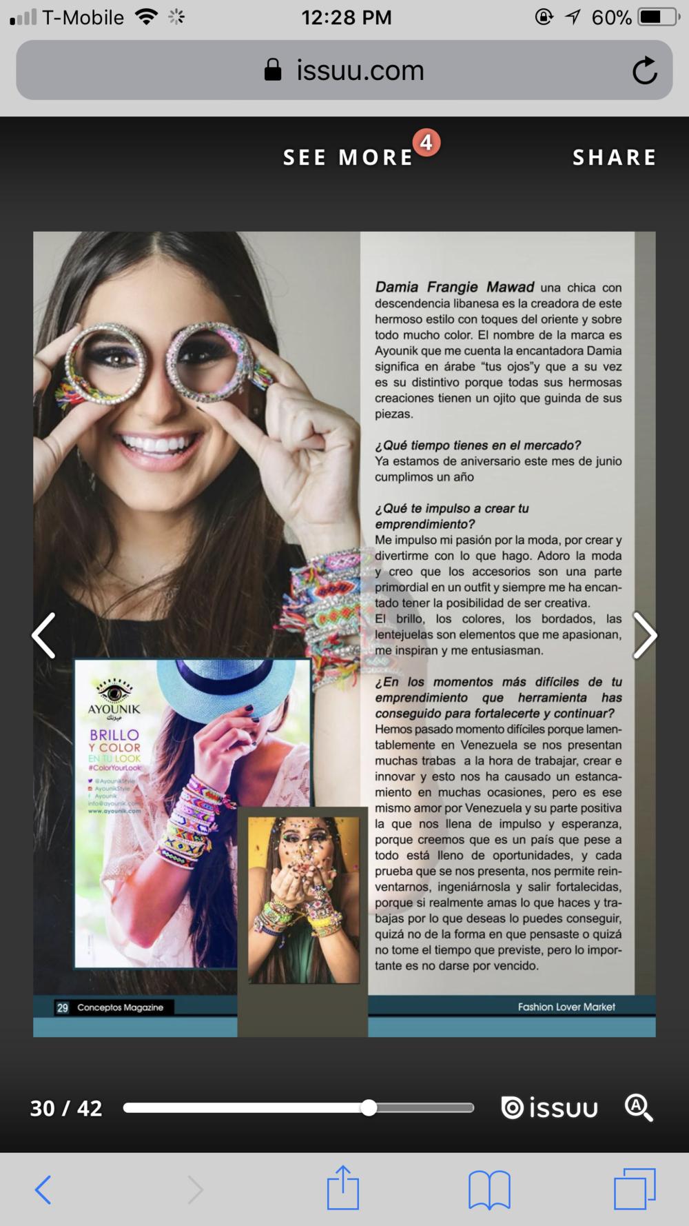 """Conceptos Magazine"", 2016, Miami, USA"