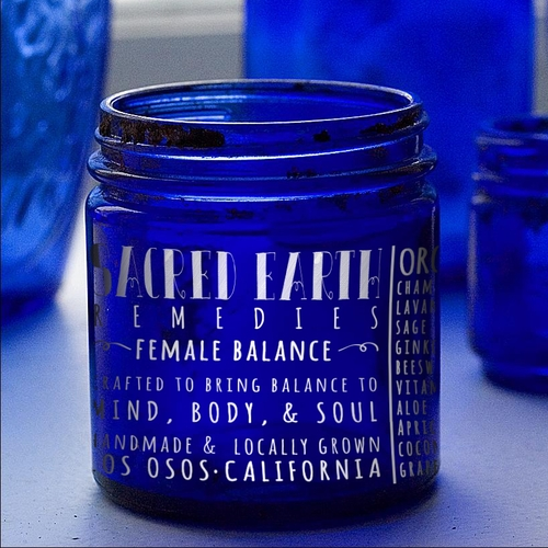 Female Balance Organic Handmade Skin Food