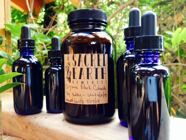 Sacred Earth Remedies Black Cohosh Tinctures
