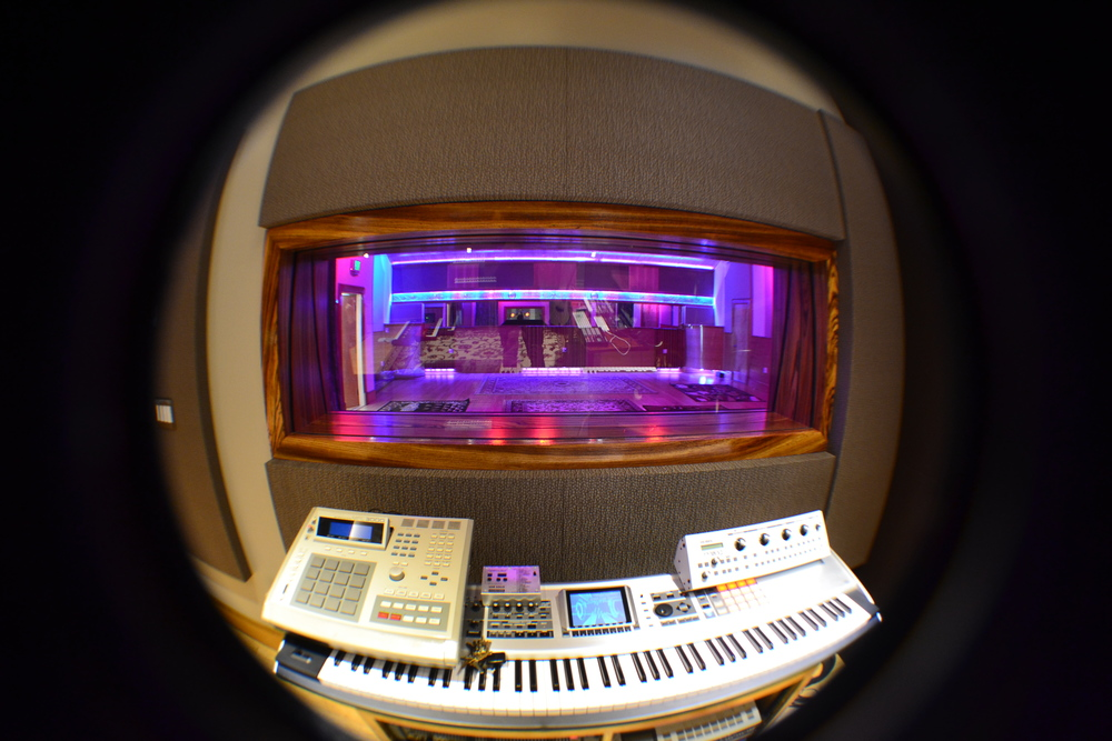 WIndow View to the Live Room A.