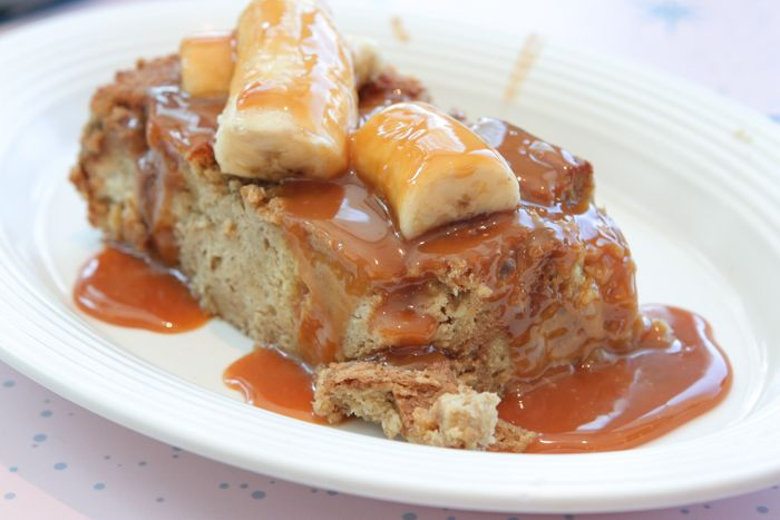 Salted Caramel Brioche French Toast with Bananas... Oi Vey! Image ©  Picky Palate