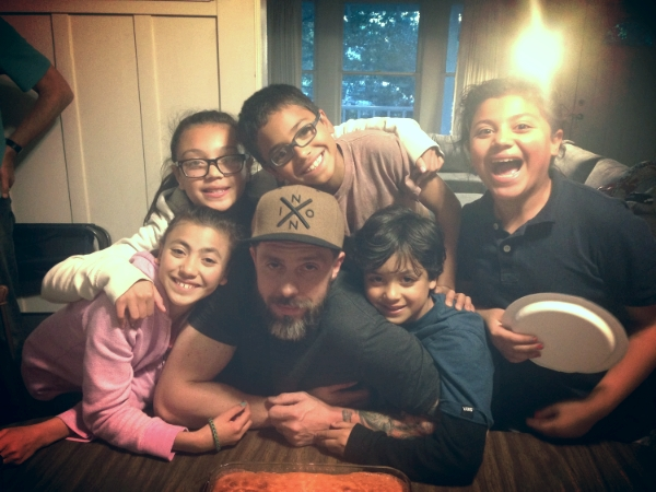 These are my five treasures...Celebrating their Daddy's birthday in April with the family!