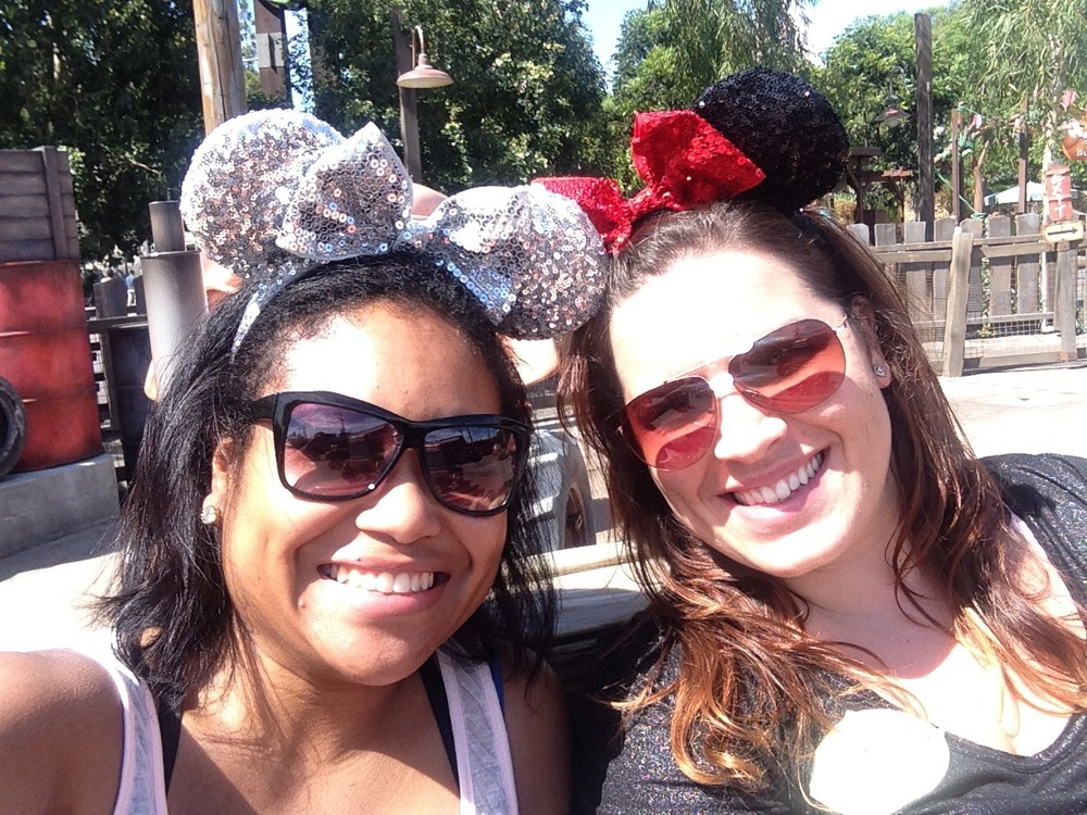 My friend Amanda and I went on a girls' weekend to Disneyland! Getting inspired and refreshed!