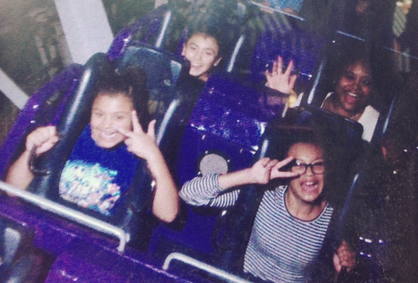 This was such a fun ride with my girls! I wish my PhotoPass didn't expire so I had a clear pic!