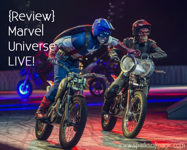 photo © courtesy Feld Entertainment; Marvel © Marvel, LLC; Disney
